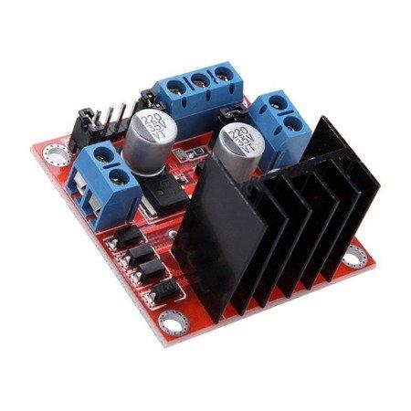 Moduł sterownika L298N do silników DC i krokowych - Arduino