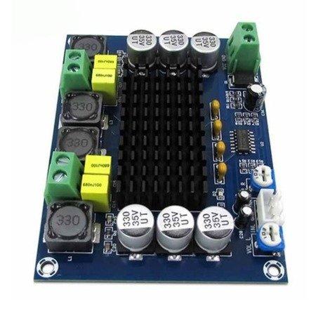 Moduł wzmacniacz audio 2x120W XH-M543 na TPA3116D2 - Klasa D