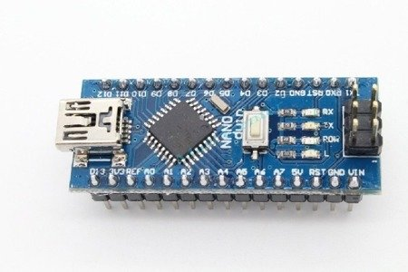 NANO V3.0 16MHz USB - ATmega328P - CH340 - Klon - piny do zalutowania - kompatybilny z Arduino