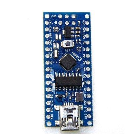 NANO V3 - 16MHz USB - ATmega168P - odpowiednik CH340 - Klon - kompatybilny z Arduino