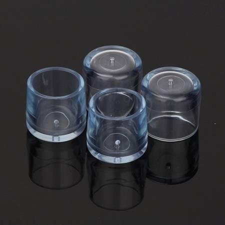 Nakładki ochronne na nogi meblowe - okrągłe 20mm - 4 szt - Osłona silikonowa na nóżki