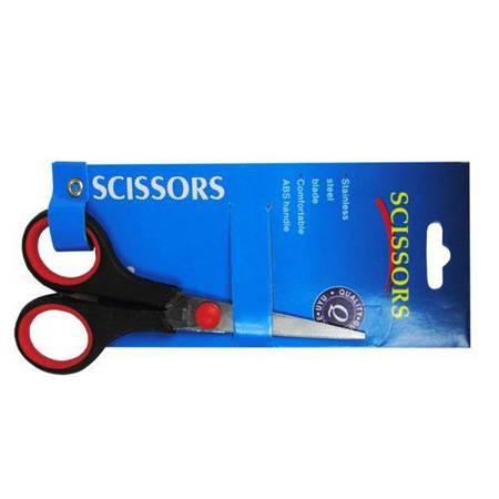"""Nożyczki biurowe - krawieckie 5.5"""" - SCISSORS - gumowana rączka"""