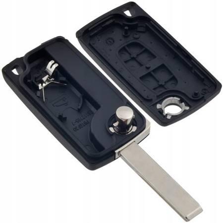 Obudowa kluczyka z rowkiem - Peugeot 207 307 - Citroen C2 C3 Picasso