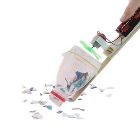 Odkurzacz kreatywny - DIY - Drewniana Zabawka Edukacyjna