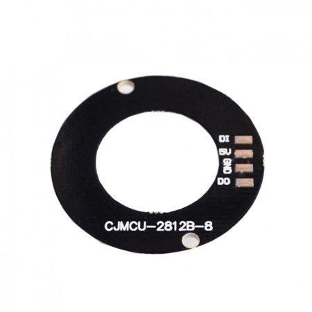Oświetlenie LED 5050 WS2812B - 8 Bits Pierścień LED RGB