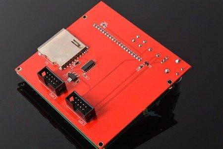 Panel kontrolny 12864 LCD Controller dla RAMPS 1.4 z czytnikiem kart SD - Zestaw RepRap 3D