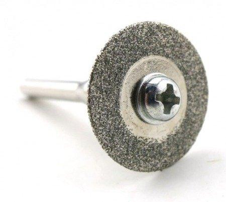 Piła tarczowa do metalu - 25mm - tarcza diamentowa - do dremela, mini gumówki