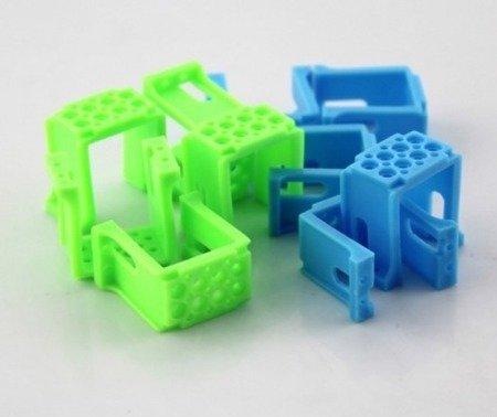 Plastikowy uchwyt na silnik TT z przekładnią - Do budowy robotów i projektów DIY