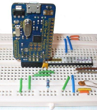 Płytka stykowa 170 pól - SYB-170 - żółta - budowa prototypów Arduino