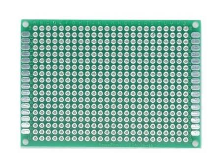Płytka uniwersalna 50x70mm - PI24Z - dwustronna PCB - budowa prototypów