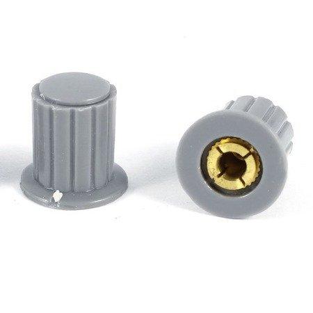 Pokrętło do potencjometru KYP16-16-4J - gałka z rdzeniem miedzianym 4 mm
