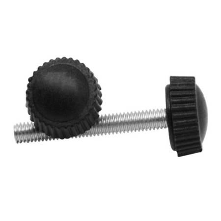 Pokrętło radełkowane M5x30mm - gałka, śruba z łbem bakelitowym