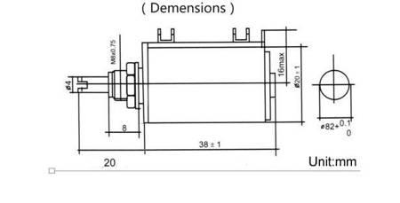 Potencjometr wieloobrotowy - 10K ohm - 2W - WXD3-13-2W