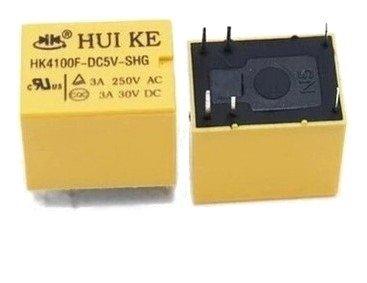 Przekaźnik 5V -  HK4100F-DC5V-SHG  - Styki 250VAC 3A - 30VDC 3A