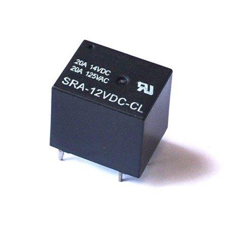 Przekaźnik mocy SONGLE SRA-5VDC-CL 20A - 5V - 5PIN T74 - styki 14VDC 125VAC