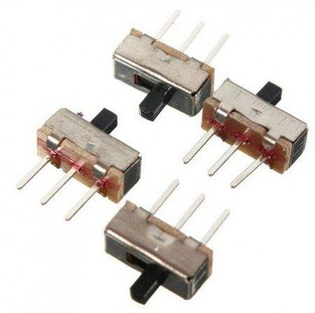 Przełącznik Switch 9x4mm - 2 pozycyjny ON/OFF - 10 szt - do montażu na PCB