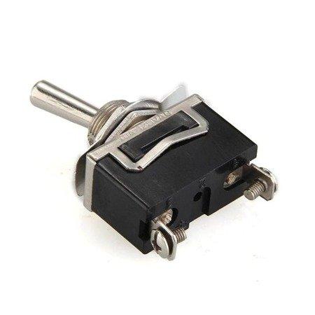 Przełącznik dźwigniowy - 6A - 250V - 2 pozycyjny ON-OFF - KN3C-101 - 2 pin