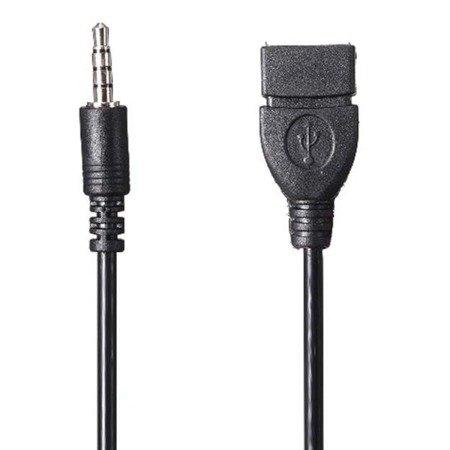 Przewód USB - Mini jack 3.5mm - Adapter, przejściówka - OTG Host