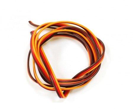 Przewód serwa miedziany ocynowany 0,13 mm (26AWG) - taśmowy