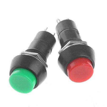 Przycisk PBS-11A - 250V 1A - bistabilny - okrągły - czerwony