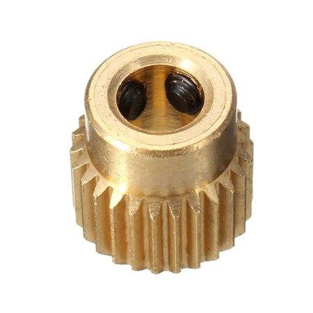 Radełko Ekstrudera 26 zębów - oś 5mm - Drukarka 3D RepRap