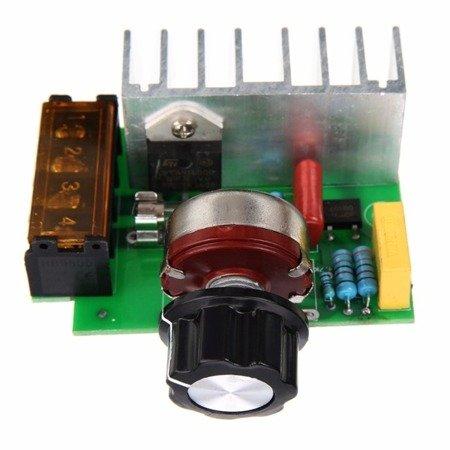 Regulator obrotów silnika AC 4000W - regulator napięcia - sciemniacz