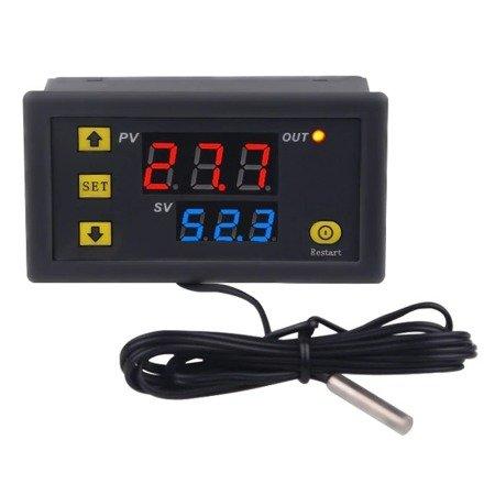Regulator temperatury 12V od -50°C do 120°C -  W3230 - Termostat