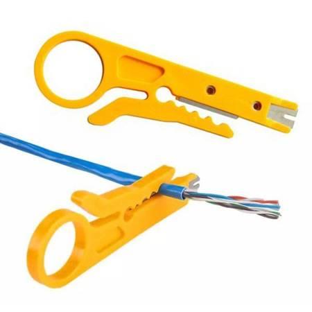 Ściągacz Izolacji Mini - Przenośny obcinacz kabli - Nożyk do przewodów STRIPPER
