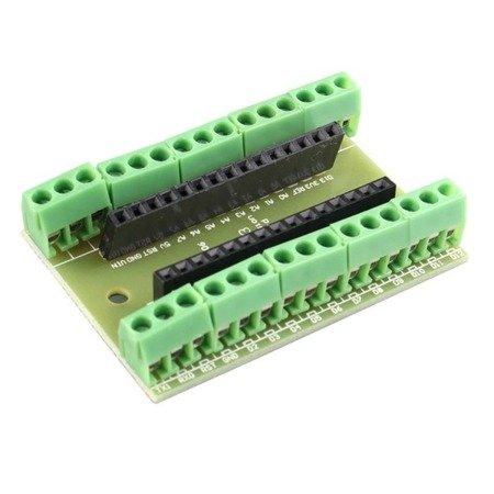 Shield Proto do Arduino Nano - złącze ARK
