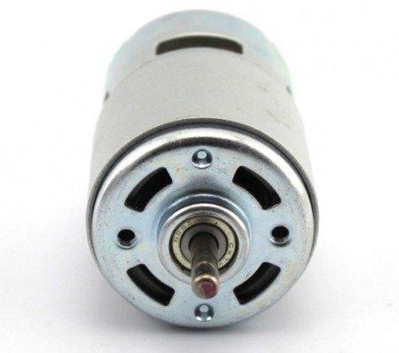 Silnik szczotkowy DC 12V/24 - klasy 795 - oś 5mm -16000RPM - łożysko- duży moment obrotowy