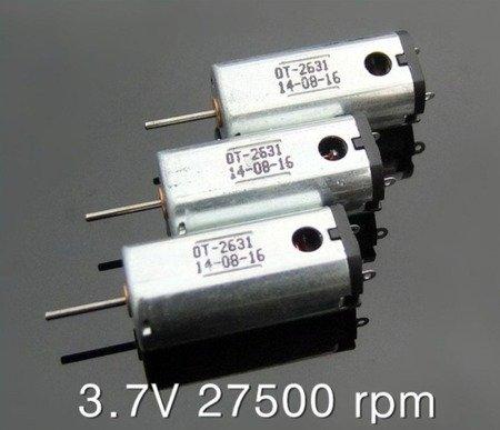 Silnik szczotkowy N50 - 27500 RPM - 1V-5V - 22.5mm
