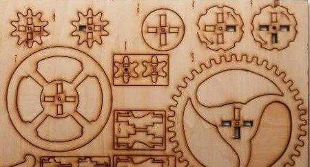 Sklejka 1,5mm 200x100 mm - Deska do rzeźbienia i cięcia laserem - Formatka