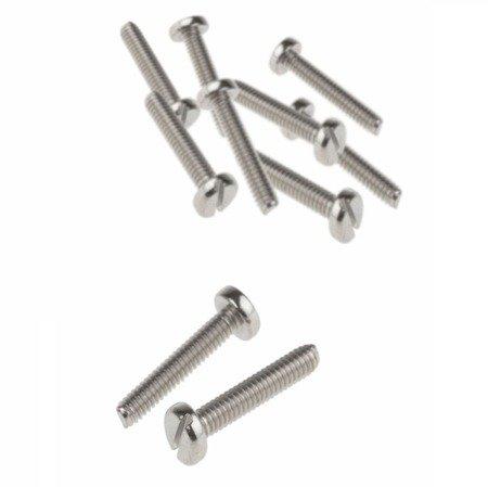 Śruba zwykła M2x20  - do metalu - metryczna- 10 szt