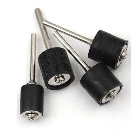 Trzpień gumowy do szlifierki - 3x13mm - uchwyt na pierścień szlifierski - Dremel