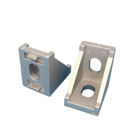 Uchwyt narożny 28x28mm do profili aluminiowych 2020 - TSLOT, T-NUT, TNUT