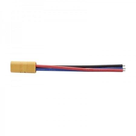 Wtyk MT60, 3 piny z przewodem - męski 100mm - (male)