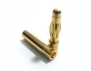 Wtyki GOLD - 3mm - para - konektory