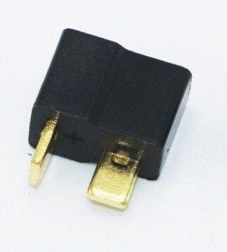 Wtyki T-DEAN black -  Konektor - czarny - 1 para