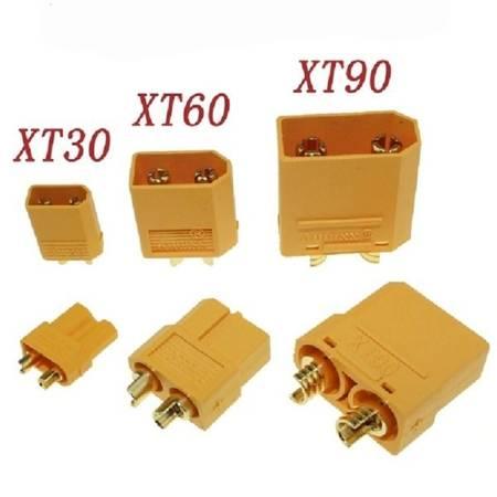 Wtyki XT30 - Konektor M-F mini wtyk i gniazdo wysoko-prądowe