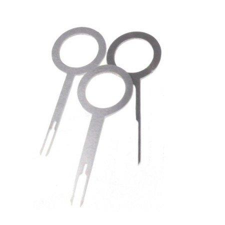 Wyjmaki do demontażu PIN'ów - 3 szt - zestaw kluczy do wypinania złączek elektryki