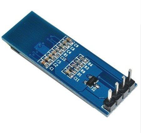 Wyświetlacz OLED 0,91' 4P 128x32 na I2C - SSD1306  - Arduino