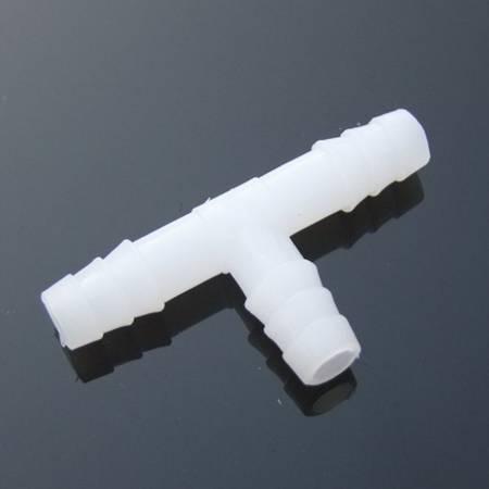 Złącze do węża - trójnik typu T - 4x4x4mm - Łącznik wciskany - Złączka